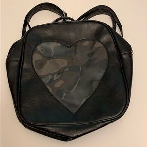 Window Heart Backpack